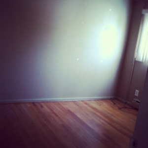 2nd Bedroom All Empty!